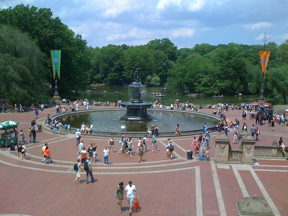 Bethesda Fountain by Mark Roon-Reitmeier