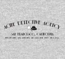 ACME Detective Agency Black Font  Kids Clothes