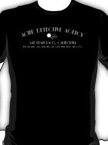 ACME Detective Agency Gray Font T-Shirt