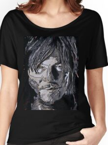 Daryl Dixon The Walking Dead Women's Relaxed Fit T-Shirt