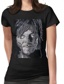 Daryl Dixon The Walking Dead Womens Fitted T-Shirt
