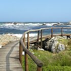 Seaside walkway by Pieta Pieterse