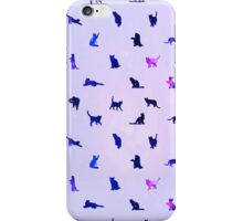 Cats Pattern: Universe 2 iPhone Case/Skin
