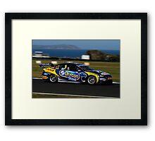 Winterbottom/Richards Orrcon Car Phillip Island 2011 Framed Print