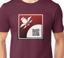 big brother is watching qr code Unisex T-Shirt