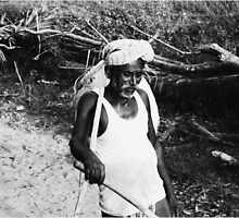 indian farmer by artsyashi