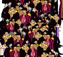 Yellow Submarine Collage by cek812