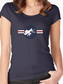 Ministry of Magic Air Force Insignia US Women's Fitted Scoop T-Shirt