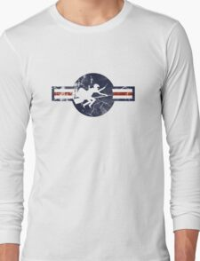 Ministry of Magic Air Force Insignia US distressed Long Sleeve T-Shirt