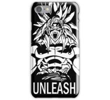 Unleash Beast Power (Saiyan) iPhone Case/Skin