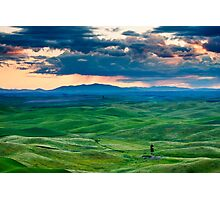 Palouse Storm Photographic Print