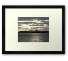 A Grey Day Framed Print