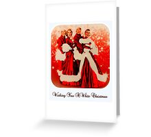 Wishing you a White Christmas Greeting Card