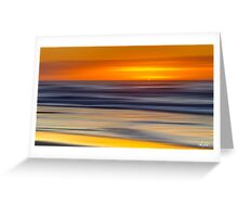 Over the Horizon Greeting Card