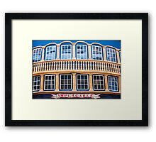 Aft End Window Framed Print