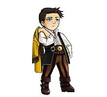 Pirate Captain Castiel Photographic Print