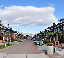New part of our village by Frits Klijn (klijnfoto.nl)