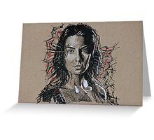 TWD Maggie Greeting Card