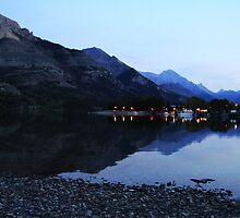 Nightfall at Waterton by Alyce Taylor