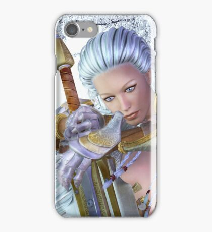 Frozen in thought iPhone Case/Skin