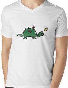 heartburn Mens V-Neck T-Shirt