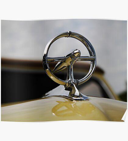 1948 Buick hood ornament Poster