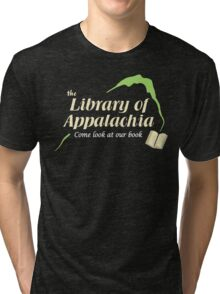 Come Look at Our Book! Tri-blend T-Shirt