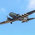 """Douglas Dakota C.3 ZA947 """"Kwicherbischen"""" turning finals by Colin Smedley"""