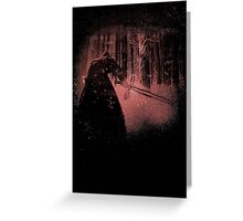 Bleached Kylo Ren Greeting Card