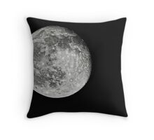 Moon at 500mm Throw Pillow