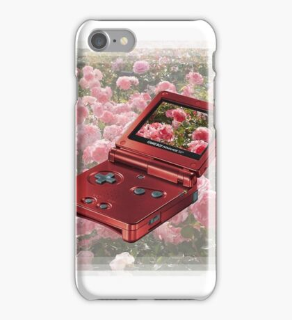 rose gold GAMEBOY 1999  iPhone Case/Skin
