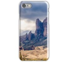 Superstition Mountains iPhone Case/Skin