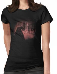 Bleached Kylo Ren Womens Fitted T-Shirt
