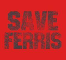 SAVE FERRIS Baby Tee