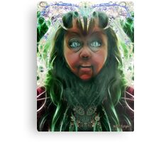 Her Silly Side Metal Print