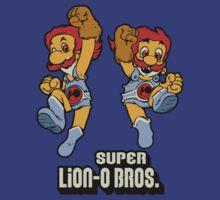 Super Lion-o Bros. by nikholmes