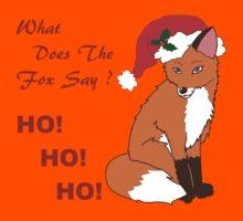Foxy Santa Kids Tee
