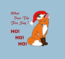 Foxy Santa Unisex T-Shirt