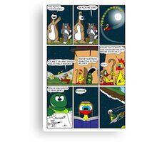 "Rick the chick  ""THE MAGIC SHELL (ITALIANO) parte 16"" Canvas Print"