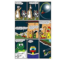 "Rick the chick  ""THE MAGIC SHELL (ITALIANO) parte 16"" Photographic Print"