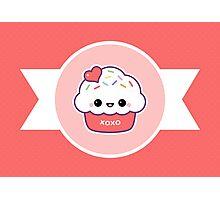Cute Love Cupcake Photographic Print
