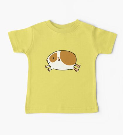 Smooth Leaping Guinea-pig ... Brown and White Baby Tee