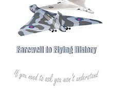 Last Vulcan Bomber to Fly 2015 by Radwulf