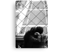 Tower for Two, please Canvas Print