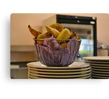 """That's what i call a """"Bread Basket"""" Canvas Print"""