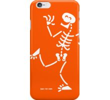 Skeleton Laughing iPhone Case/Skin