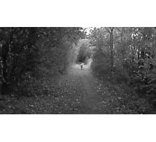 the slow journey home Photographic Print