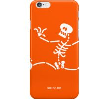 Skeleton Running Away iPhone Case/Skin