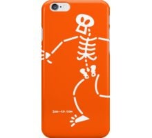 Surprised Skeleton iPhone Case/Skin