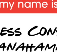 Princess Consuela Bananahammock  Sticker